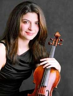 Lindsay Deutsch, violin