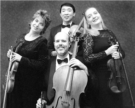 Fidelis Quartet, Violin, Viola & Cello